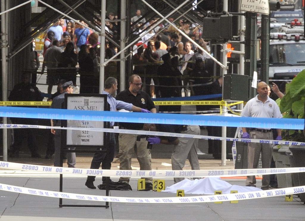 Empire State Shooting Police Officers