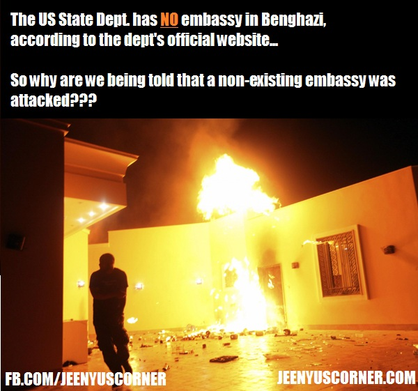 How Could The US Embassy In BENGHAZI Be Attacked When Its Not - Benghazi us consolate attack on google maps