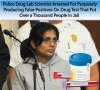 Scientist Arrested For Purposely Producing False Positives On Drug Test | THE JEENYUS CORNER