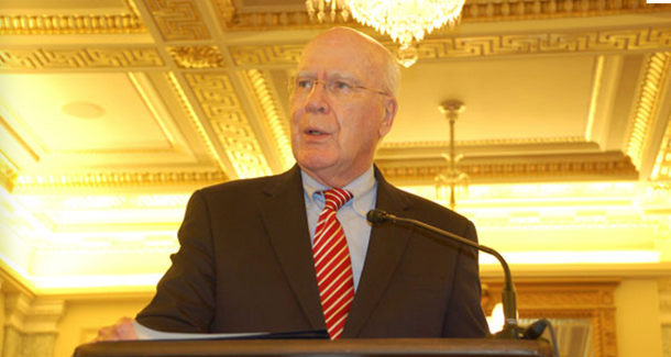 Sen. Patrick Leahy previously said his bill boosts Americans' e-mail privacy protections by