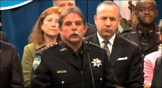 California Police Chief: Ken James