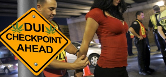 Dui checkpoint ahead