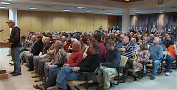 It was a packed house inside the Greenville County Council Chambers, Hundreds were on hand for the Constitutional Carry Act hearing.
