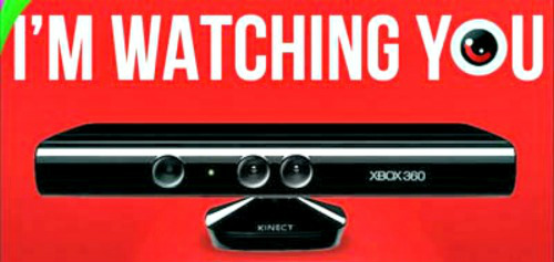 kinect watching you