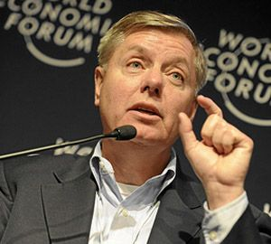 U.S. Sen. Lindsey Graham (R-SC) will be up for reelection this year.  His liberal stance on gun policy and fiscal issues may prove to be a difficult obstacle in the 2014 mid-term elections.