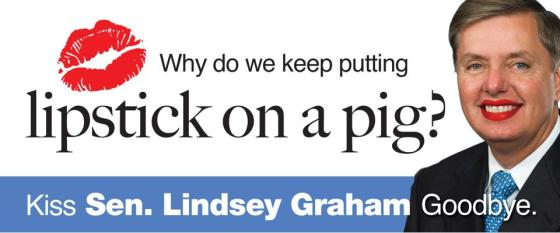 Any One But Graham:A true grass-roots effort to replace Lindsey Graham as U.S. Senator. (click to visit our Facebook Page)