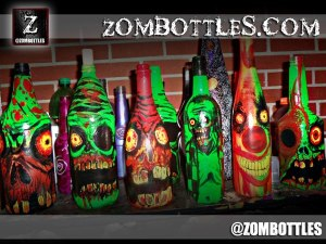 ZOMBOTTLES.COM: We design bottles and lamps that will bite your face off!