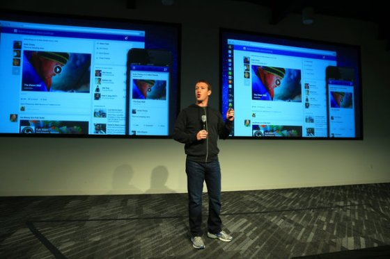 Jim Wilson/The New York TimesMark Zuckerberg, Facebook's co-founder and chief executive, announced a major makeover of its home page on Thursday
